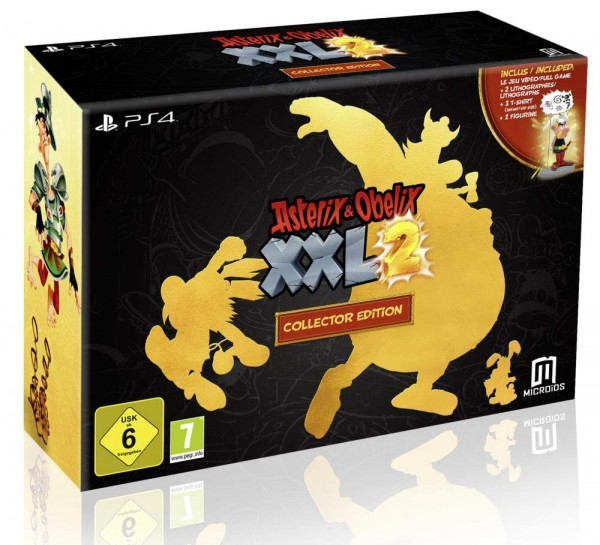 Asterix & Obelix XXL2 Collector Edition Ps4 Spiel