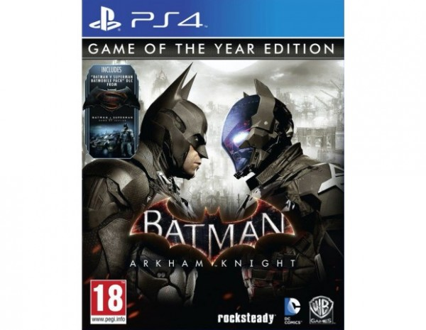 Batman: Arkham Knight Game of the Year Edition PS4 Spiel *NEU OVP*
