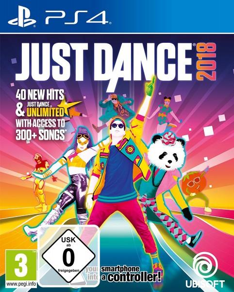 Just Dance 2018 PS4 Spiel *NEU OVP* Playstation 4 Tanzspiel