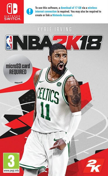 NBA 2K18 Nintendo Switch Spiel