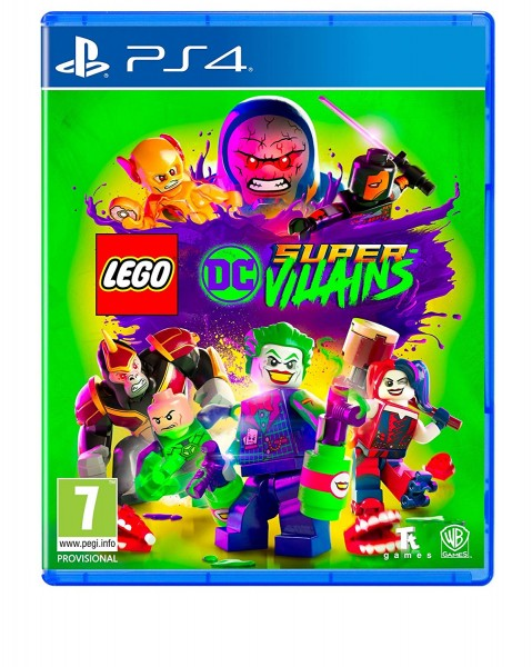 LEGO DC Super Villains PS4 EU Version