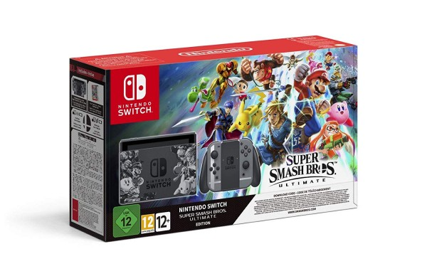 Nintendo Switch Konsole Super Smash Bros. Ultimate Edition Bundle