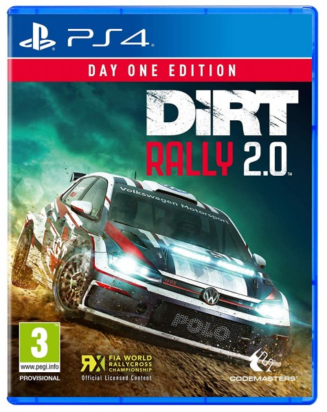 DiRT Rally 2.0 Day One Edition PS4 EU Version