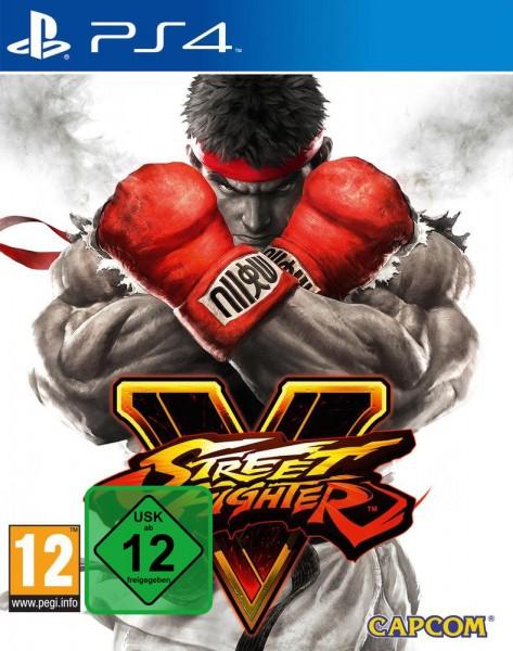 Street Fighter V PS4 *NEU OVP* Street Fighter 5 Playstation 4