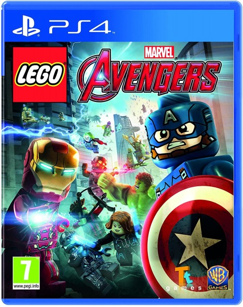 Lego Marvel Avengers PS4 EU Version
