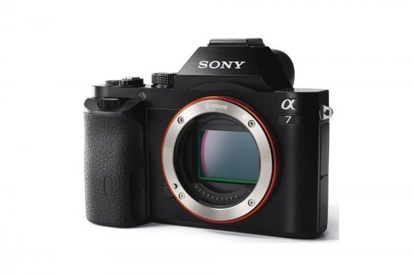 Sony Alpha 7 Systemkamera a7 Body schwarz
