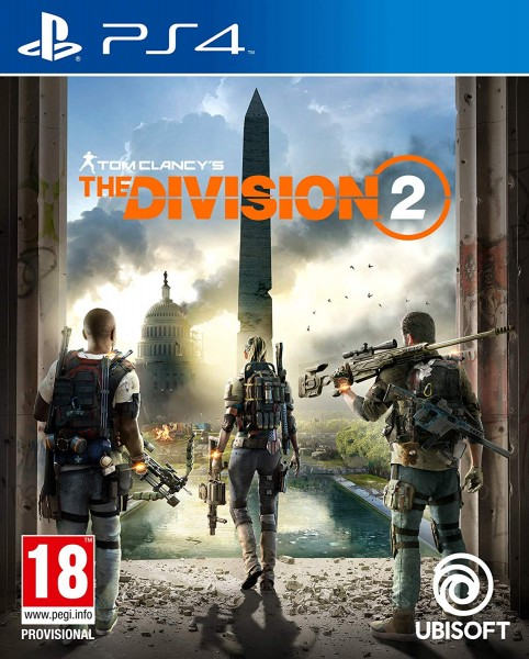 Tom Clancys The Division 2 Uncut UK Version PS4