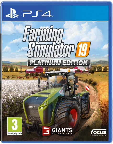 Landwirtschafts-Simulator 19: Platinum Edition PS4 EU Version