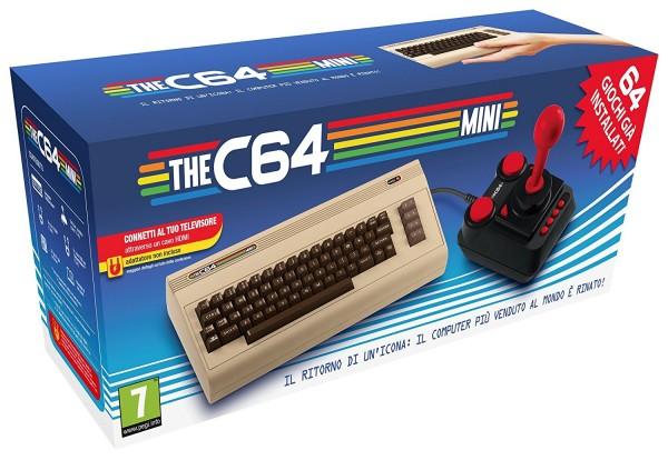 Commodore C64 Mini Retro Computer inkl. 64 Spiele und Joystick