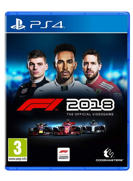 F1 2018 PS4 Spiel Formel 1 2018 Playstation 4 *NEU OVP*