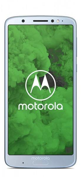 Motorola moto g6 Plus Dualsim Smartphone 5,9 Zoll, 64GB interner Speicher, 4GB RAM, Nimbus Blue