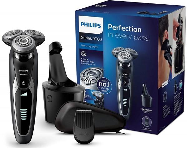 Philips S9531/26 Elektrischer Nass-und Trockenrasierer Series 9000 schwarz