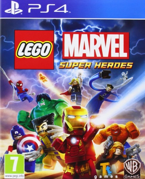 Lego Marvel Super Heroes PS4 EU Version