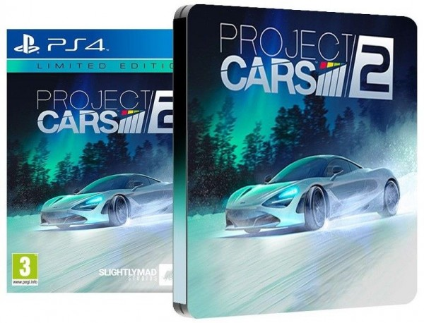 Project CARS 2 Limited Steelbook Edition PS4