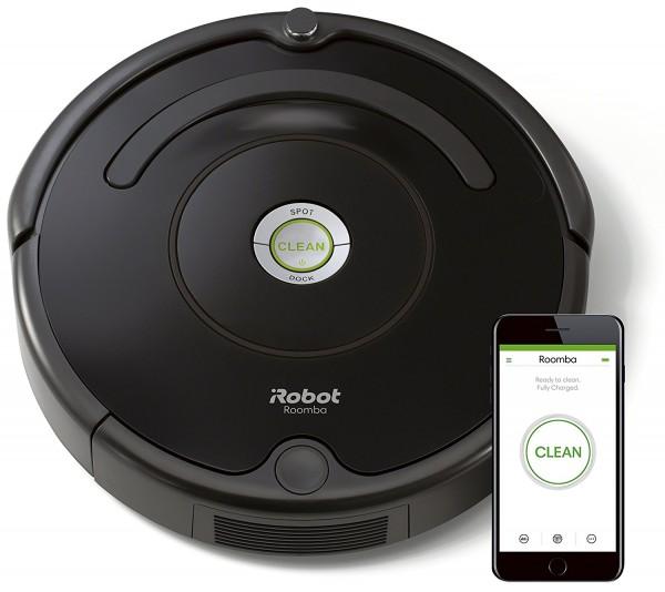 IRobot Roomba 671 Saugroboter schwarz