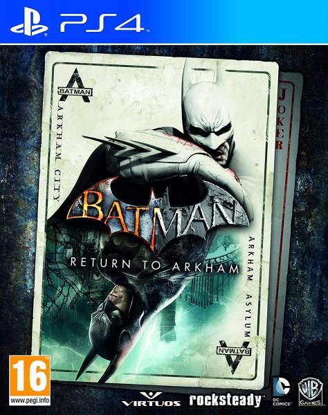 Batman: Return to Arkham PS4 EU Version