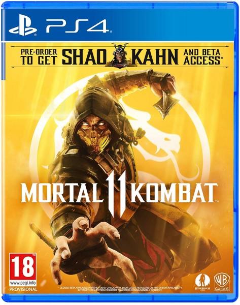 Mortal Kombat 11 Uncut EU Version PS4 incl. Shao Kahn DLC