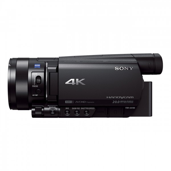 Sony FDR-AX100E 4K Ultra-HD-Camcorder