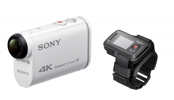 Sony FDR-X1000 4K Actioncam Live-View Remote Kit weiß