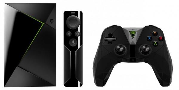 Nvidia Shield TV Media Streaming Player 16 GB, inkl. Fernbedienung, Controller - Wie neu