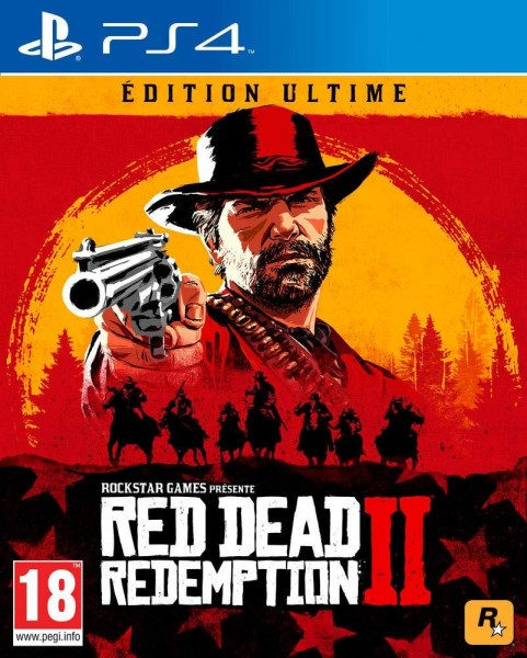 Red Dead Redemption 2 Ultimate Steelbook Edition Uncut PS4 Spiel