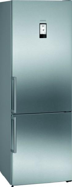 Siemens KG49NAIDP iQ500 Freistehende Kühl-Gefrier-Kombi 203 x 70 cm Edelstahl antiFingerprint