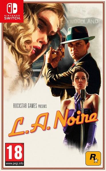 L.A. Noire - Nintendo Switch Spiel *NEU OVP*