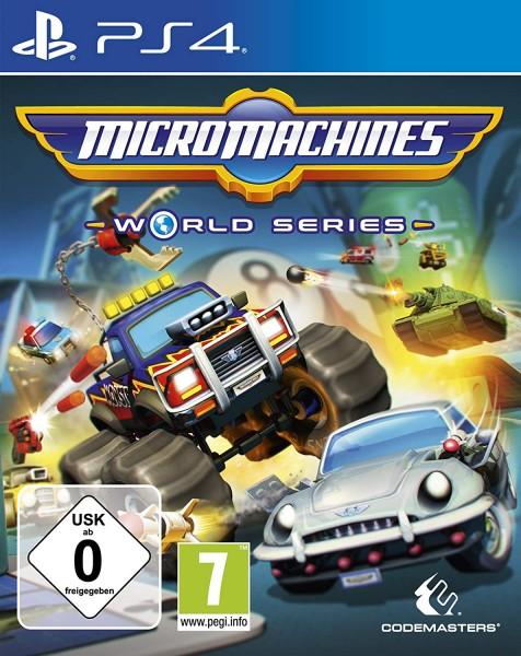 Micro Machines World Series PS4 Spiel